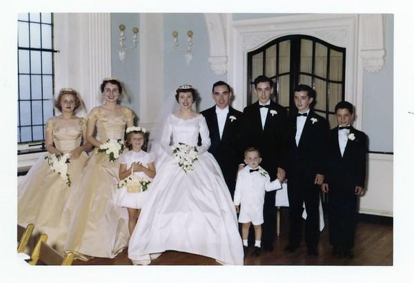 Pat and Nancy wedding