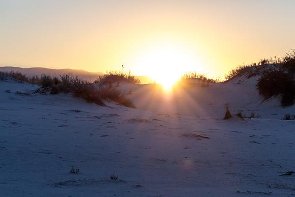White Sands Morning