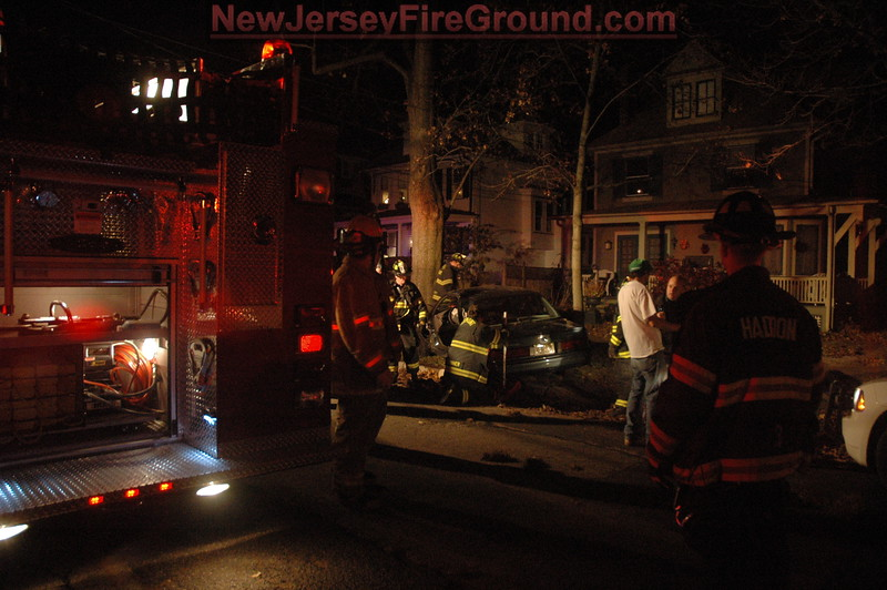 11-10-2008(Camden County)HADDONFIELD W. End Ave-M.V.A Rescue