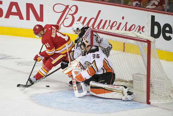 Flames vs Ducks