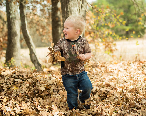 Jaxon Fall Leaves
