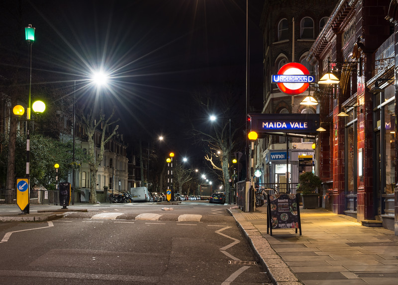 Maida Vale tube station