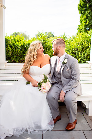 Allison and Gregg - First Look and Formals
