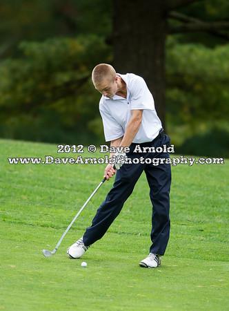 10/1/2012 - Varsity Golf - Walpole vs Needham