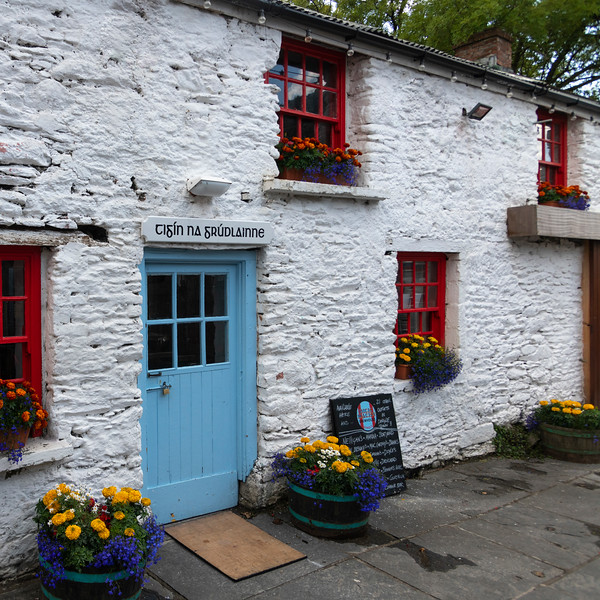 Fa�ade of store, Dingle, Dingle Peninsula, County Kerry, Republic of Ireland