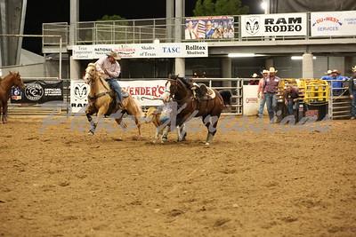 Steer Wrestling Tuesday 9-28-21