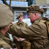 Second World War Gibraltar Defence Force honoured by Re-enactment society