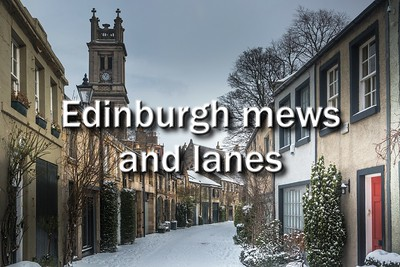 Edinburgh mews and lanes