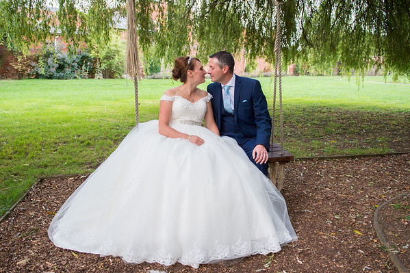 Anna & Ian at Stanbrook Abbey in Worcestershire