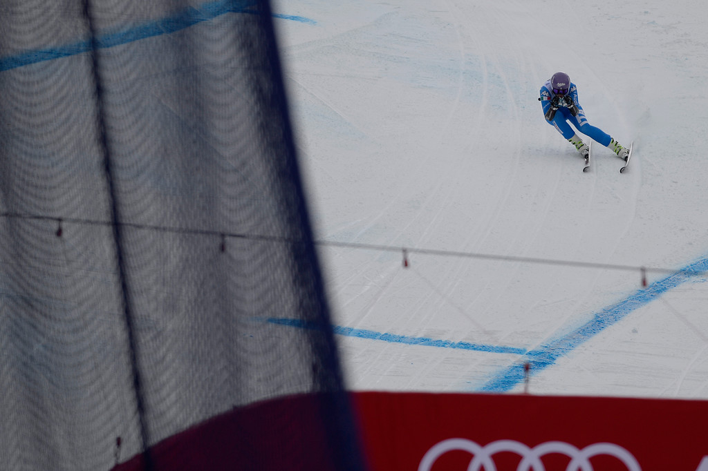 . BEAVER CREEK, CO - FEBRUARY 03: Elena Curtoni of Italy competes during the the ladies\' super-G finals. FIS Alpine World Ski Championships 2015 on Tuesday, February 3, 2015. (Photo by AAron Ontiveroz/The Denver Post)