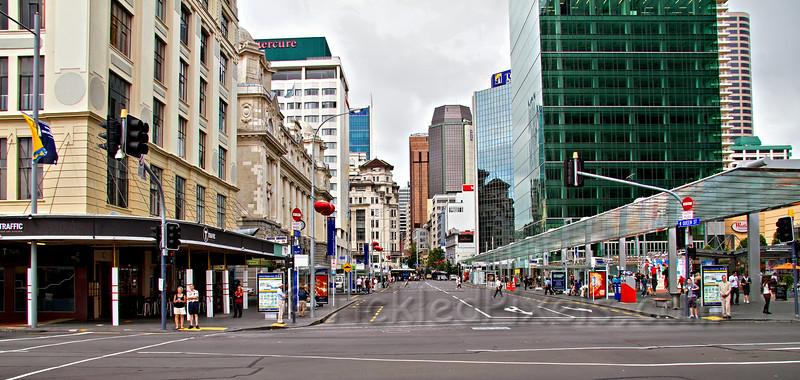 Bottom of Queen Street