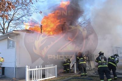 North Amityville Fire Co. Signal 13  Rodney Pl.  12/28/17