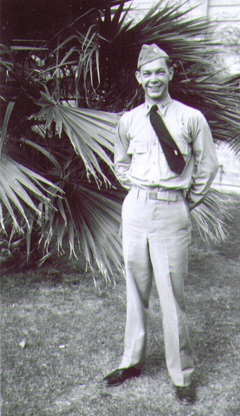 Ensign Wayne J. Eldredge, Naval Indoctrination School, Tusco.jpg