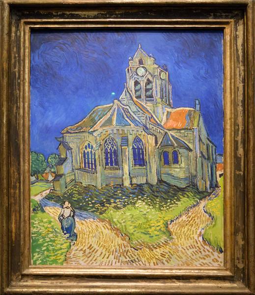 Vincent van Gogh, The Church at Auvers, 1890