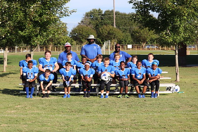 Tackle Football and Cheer Team Photos