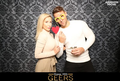 Happy 30th Geers!