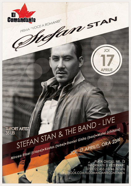 Concert Stefan Stan
