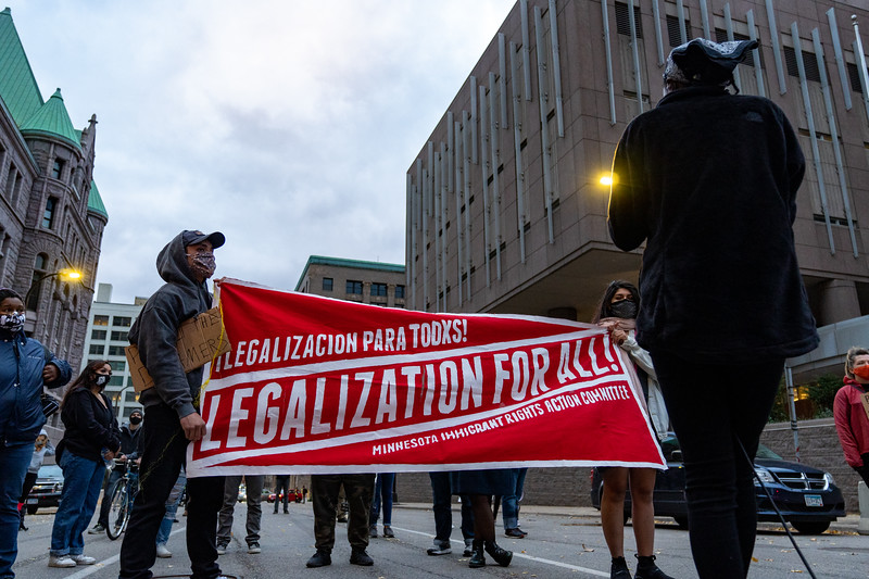2020 10 14 MIRAC Protest DACA TPS DED Klobuchar Office-25.jpg