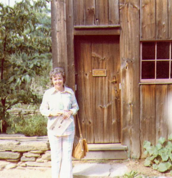Bonnie at Sturbridge Village, NY, Sep 1973  .jpg