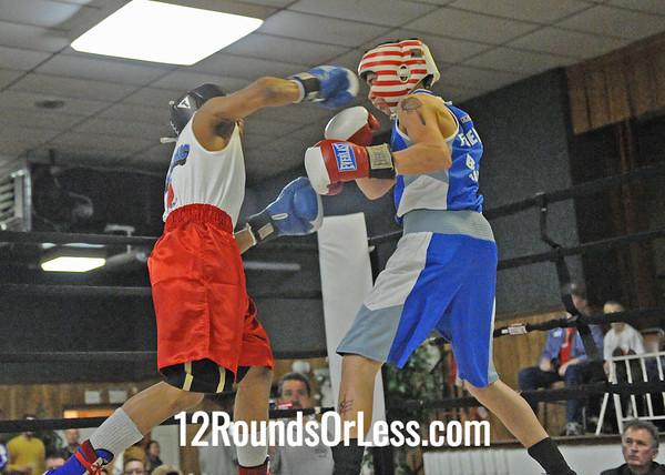 Isiah Rosario (Freddies) vs Rico O'Quinn (Detroit)  Bout # 6