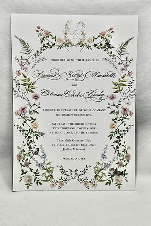 7-3-2021 Savanah & Coleman Wedding @ Twin Hills-Joplin