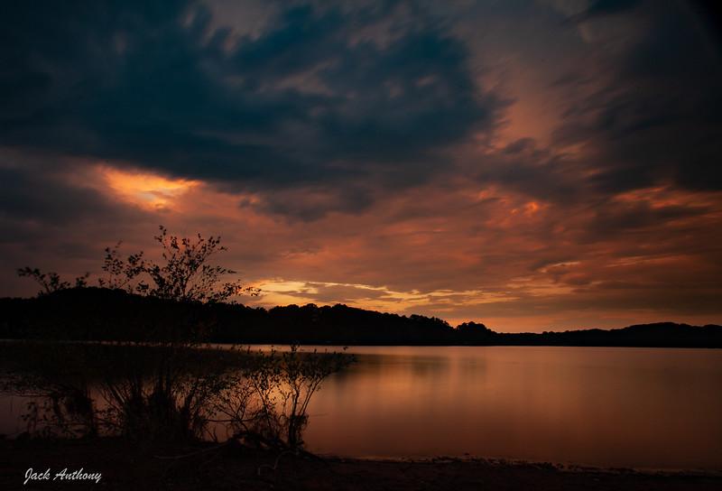 Lake Sidney LanierSunset at Olympic Park, Gainesville, Ga.