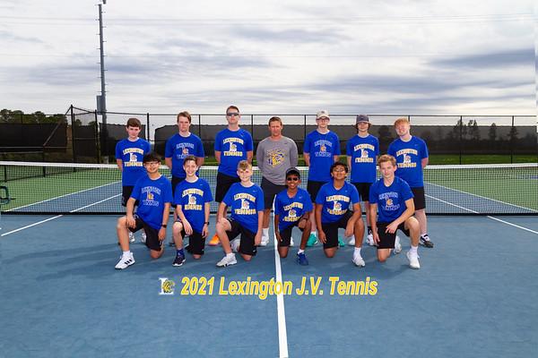 2021 Boys JV tennis