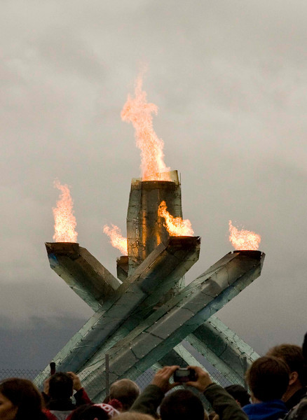 Vancouver during Winter Olympics