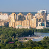 High Rises along the Dnieper River, Kiev, Ukraine