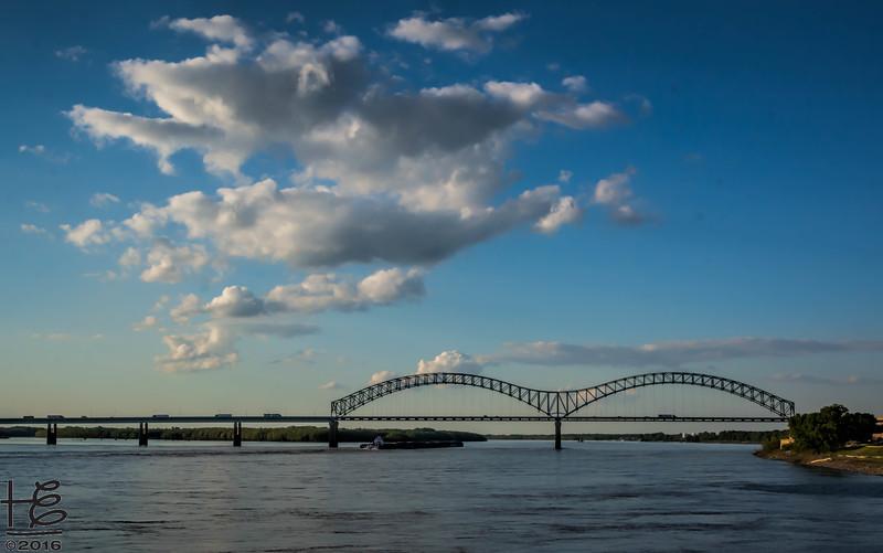 I-40 Bridge over the Mississippi