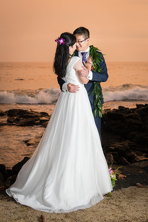 160904 Chelsea Huang and George Zhou Royal Kona Resort Wedding