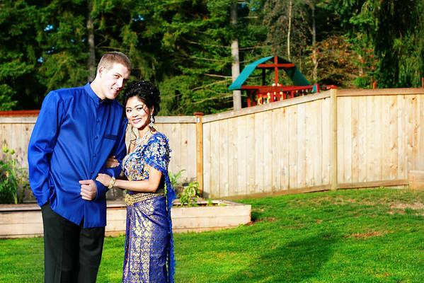 Pesarakphorn & Nick Khmer Wedding