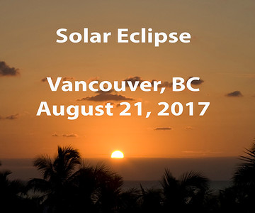 Solar Eclipse from Vancouver BC