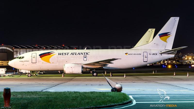 West Atlantic / Boeing B737-3Y0(SF) / G-JMCM