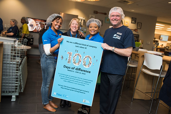 TIAA - Difference Maker 100 - Ballantyne Campus
