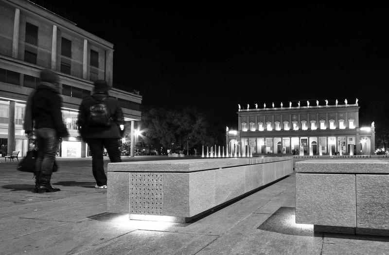 Piazza Martiri del 7 Luglio - Reggio Emilia, Italy - November 12, 2009