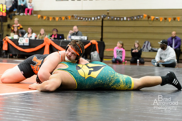 NDHS Wrestling vs West Forsyth 2015