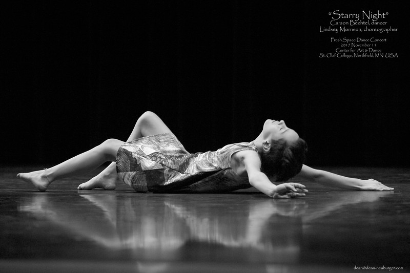 >>Fresh Space<<  Dance Concert, 2017 November 11, Center for Dance and Arts, St. Olaf College, Northfield, MN  USA.