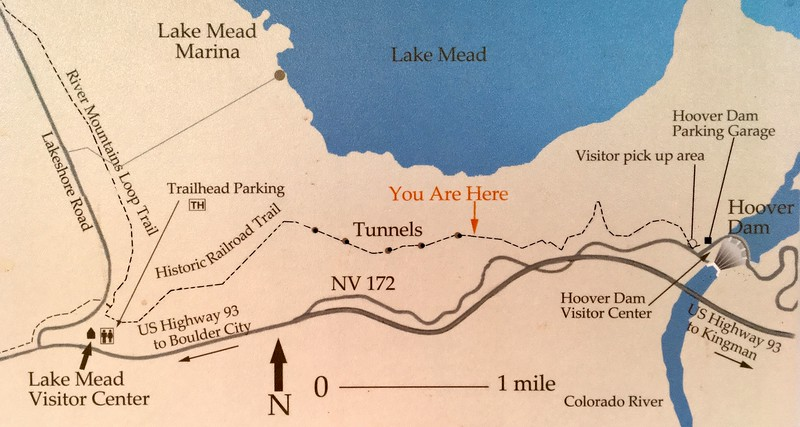 Historic Railroad Trail was an epic jog to Hoover Dam