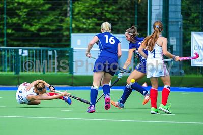 France V Czech Ladies