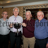 Bessbrook Outdoor Bowls Awards. Pairs Winners (pictured centre) Jack Parker (standing in for Jack was Pat Sexton) and Brian McQuaid are pictured with Runners Up Davy Paul and Seamus Turley. RS1548004