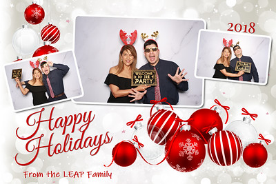 LEAP Family Holiday Christmas Party 2018