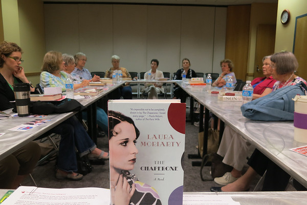 Second Thursday Fiction Book Group-May 8th, 2014 The Chaperone by Laura Moriarity