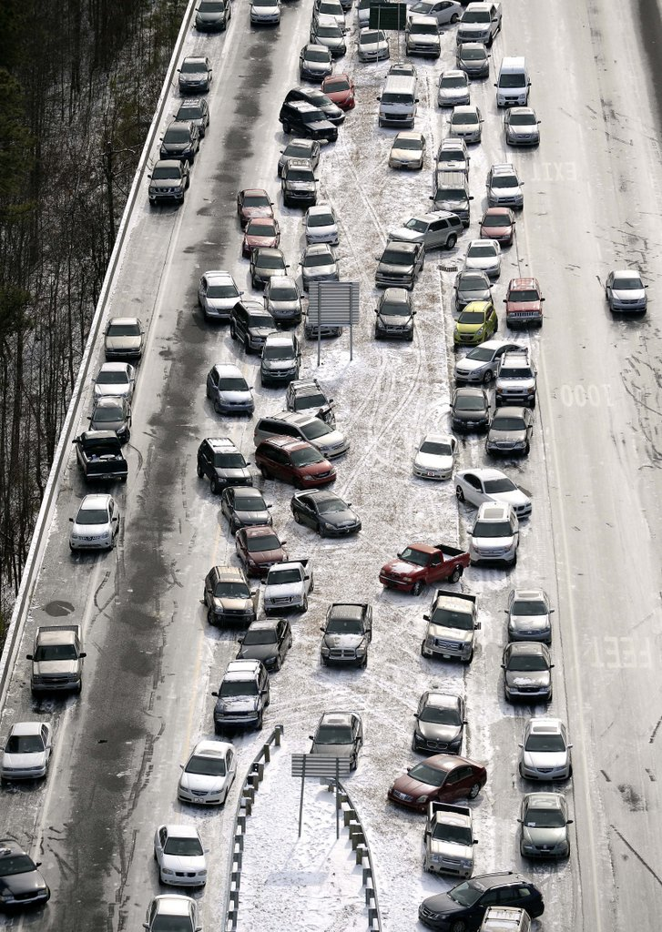 """. <p>1. ATLANTA <p>Some cities are paralyzed by two feet of snow. For others, it only takes two inches. (unranked) <p><b><a href=\'http://www.twincities.com/national/ci_25007457/southerners-warned-icy-mess-days-ahead\' target=\""""_blank\""""> HUH?</a></b> <p>   <p>OTHERS RECEIVING VOTES <p> Prince, Warren Sapp & Michael Strahan, Oprah Winfrey�s 60th birthday, Patch, Gregg Williams, Matt Guerrier, Kanye West, Brandon Simmons, Arizona Coyotes, Jahvid Best, Super Bowl XLVIII Media Day, cow farts, Northwestern Wildcats, Mark Dayton, Lindsey Vonn, doves, Queen Elizabeth, Moammar Gadhafi, Brian Ross, Pete Seeger, Pete Carroll, Chicago Cubs, polar vortexes, Sochi Olympics, Kim Jong Un, I Frankenstein, Tiger Woods. <p> <br><p> You can follow Kevin Cusick at <a href=\'http://twitter.com/theloopnow\'>twitter.com/theloopnow</a>.     (AP Photo/David Tulis)"""