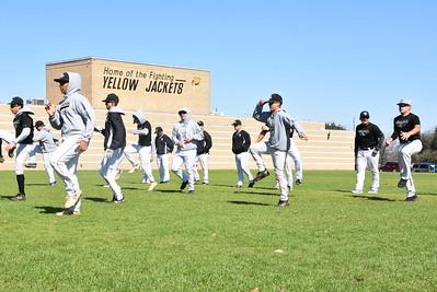 2020 Baseball Practice