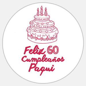 60 Cumpleaños Paqui