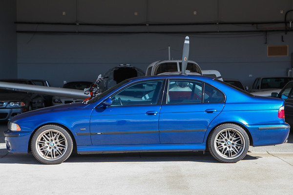 2000 BMW M5 Lemans Blue