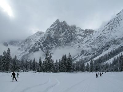 Dolomiti cross country skiing