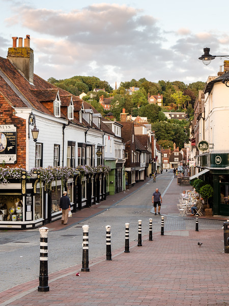 Cliffe High Street in Lewes