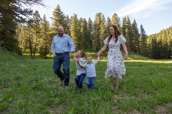 Bilby Family - West Yellowstone, Montana